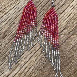 VC Design beaded earrings